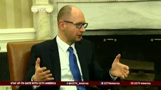 Obama Meets Ukraine