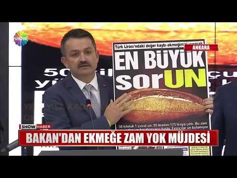 Ekmek Yeni Yıla Kadar Zamlanmayacak