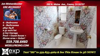 A home that fits your lifestyle 4 Bedroom/4 bathroom house for sale in Clovis California