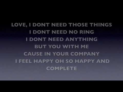 Valentine Lyrics- Kina Grannis