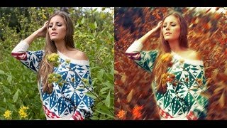 Vintage Color Photography Photoshop Tutorial