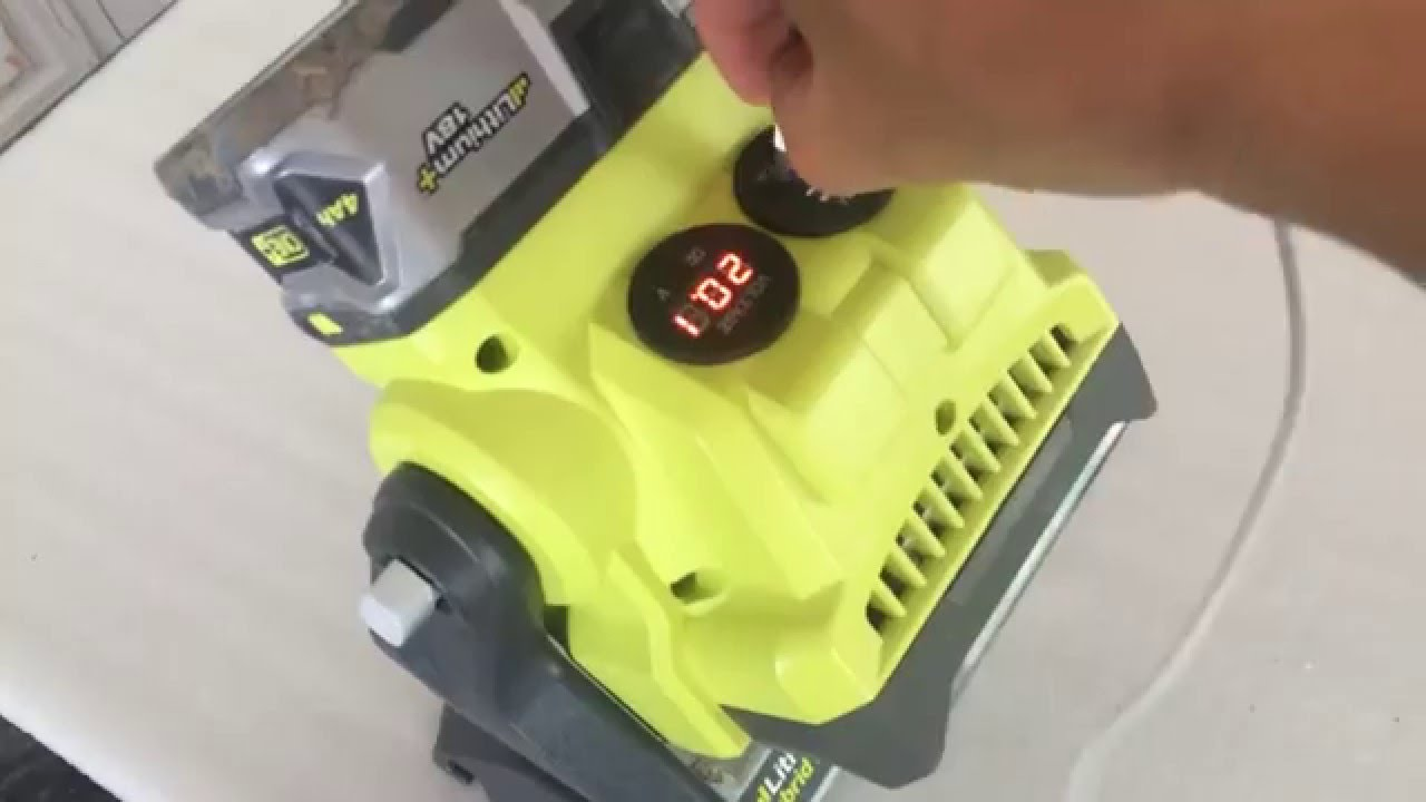 Power Tool Battery As Usb Power Bank Ryobi 18v Lithium