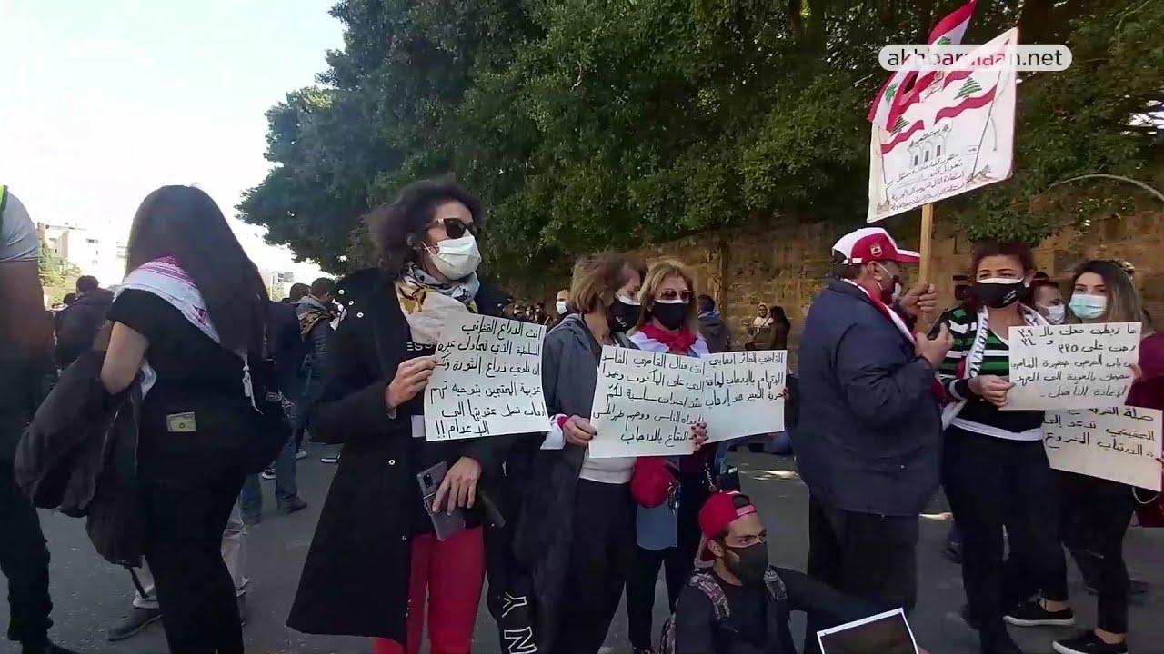 فريق عمل #عيش_الآن يستمع لمطالب أهالي موقوفي أحداث #طرابلس بعد تأجيل جلسة إستجوابهم بسبب الإنترنت.  - 23:02-2021 / 2 / 24