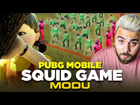 YENİ OYUN MODU SQUİD GAME !! KIPIRDARSAN ÖLERSİN PUBG Mobile squid game modu