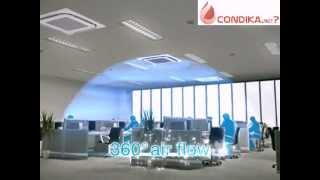 видео Кассетные кондиционеры Midea
