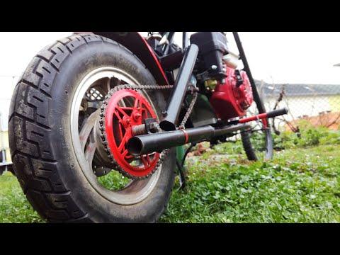 Homemade Mini Motorcycle - Clutch Rebuild - 200cc