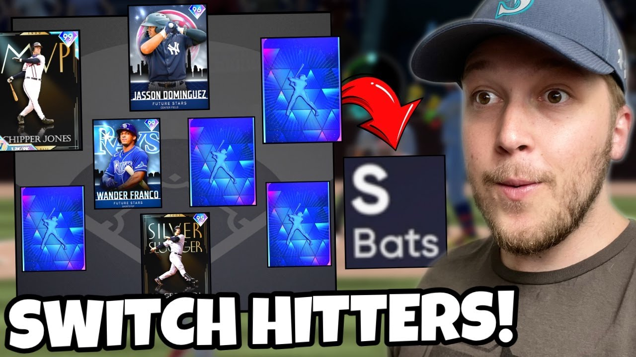 i used a FULL TEAM of SWITCH-HITTERS and played a stressful game.. MLB The Show 21