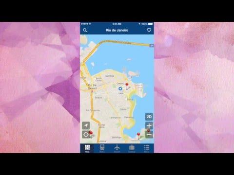 Rio Offline Travel Map App