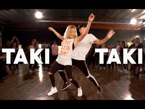 TAKI TAKI - DJ Snake, Cardi B, Ozuna & Selena Gomez Dance | Matt Steffanina & Chachi Pt.2