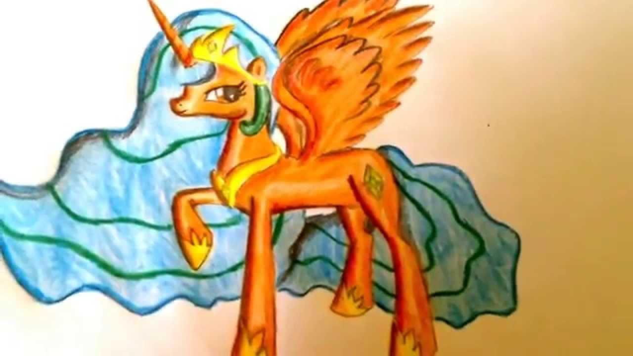 Moje Rysunki Kucyków Pony1 Bonus Youtube