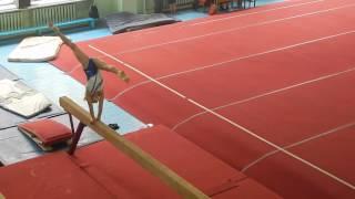 Бревно первый взрослый спортивная гимнастика