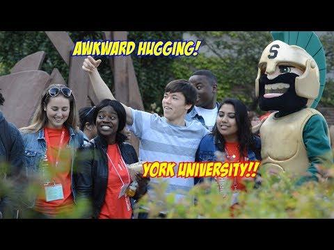 Hugging People At York University