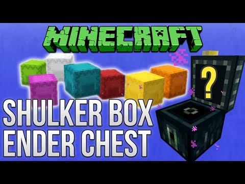 Minecraft 1.12: Shulker Box & Ender Chest Guide (Tutorial)