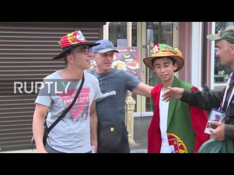 Russia: Mexico fans in high spirits ahead of Portugal Confederations Cup showdown