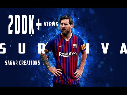 SURVIVA Song -  Messi Version HD | Vivegam |Best Motivational Video|