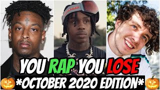 YOU RAP, YOU LOSE! *IMPOSSIBLE* (2020 October Edition) 🔥🎃