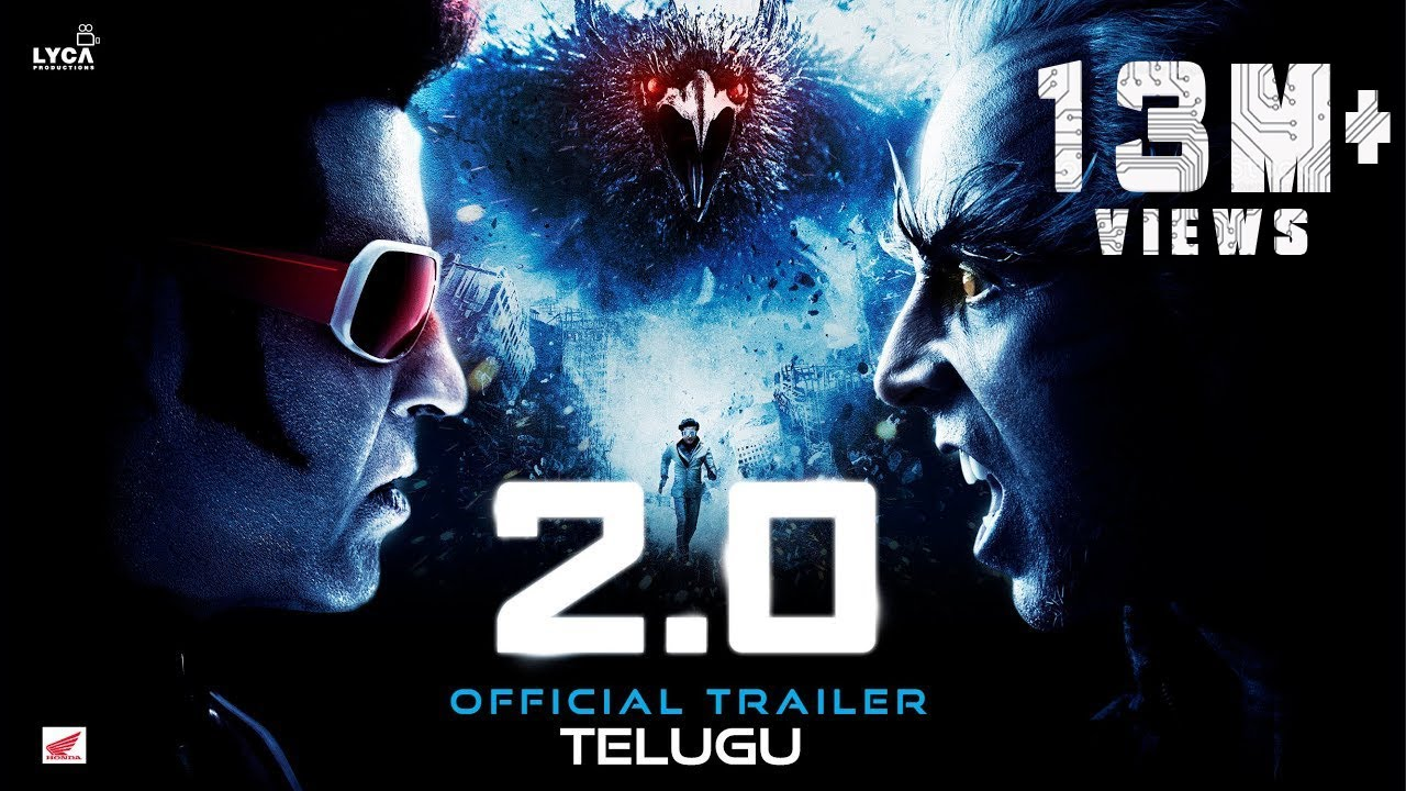 Download 2.0 - Official Trailer [Telugu] | Rajinikanth | Akshay Kumar | A R Rahman | Shankar | Subaskaran
