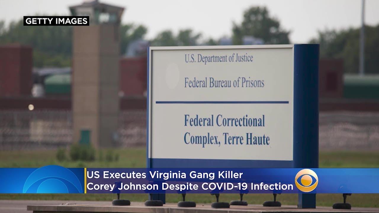 US executes Virginia gang killer despite COVID-19 infection