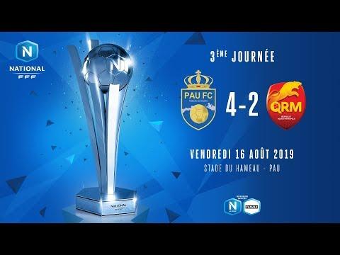 J3 : Pau FC - Quevilly Rouen Metropole (4-2), le résumé