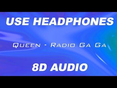 Queen - Radio Ga Ga | 8D AUDIO 🎧 #8daudio #8d #8dmusic