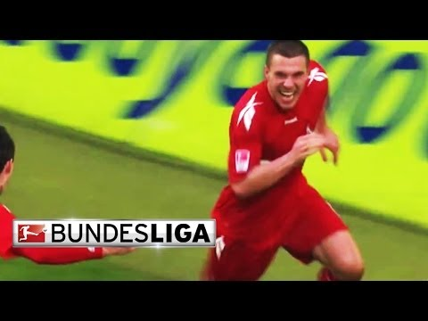 Best bundesliga goals - podolski scores a screamer