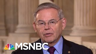Syria Strikes May Have Been 'Choreographed' With Russia: Senator Menendez | All In | MSNBC
