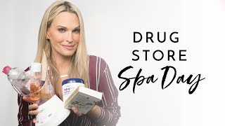 DRUG STORE SPA DAY! | Molly Sims 2018