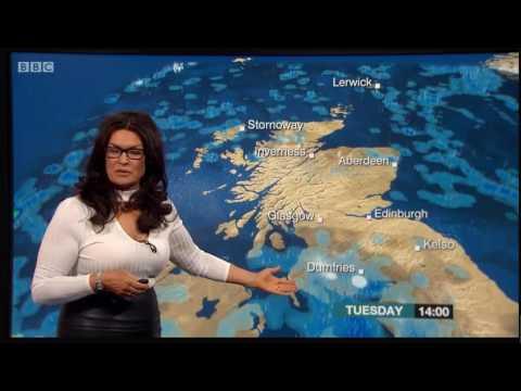 Judith Ralston tight white top & tight leather skirt | Reporting Scotland | 270217 thumbnail