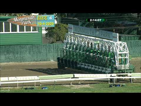 video thumbnail for MONMOUTH PARK 10-04-20 RACE 4