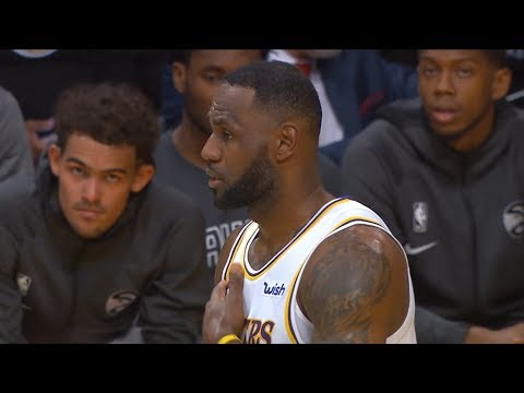 Los Angeles Lakers vs Atlanta Hawks - 1st Half Highlights | November 17, 2019-20 NBA Season