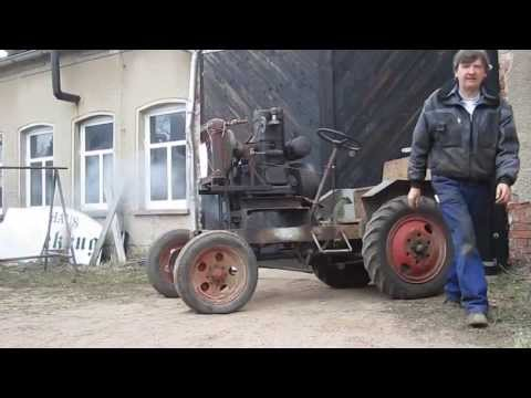 Start eines seltenen Junkers HK 60 Dieselmotors