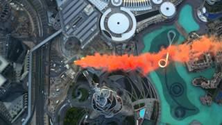 Burj Khalifa Pinnacle BASE Jump Dubai • 1080P