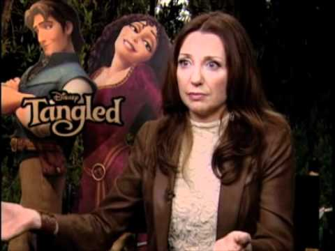 Tangled: Donna Murphy Interview