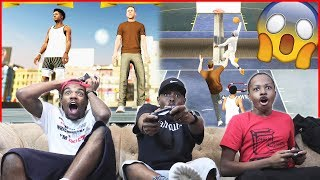 Ninja Members Came To Ruin Our Fun... Then This Happened! - NBA 2K19 Gameplay