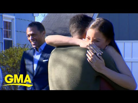 Liver recipient meets her donor for the 1st time live on 'GMA'