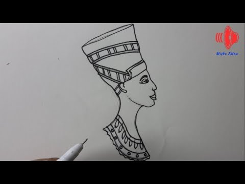 How to drawing Ancient Egyptian