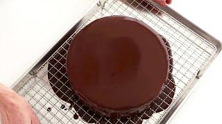 How to Glaze a Cake the Martha Stewart Way | Martha Bakes | #Shorts