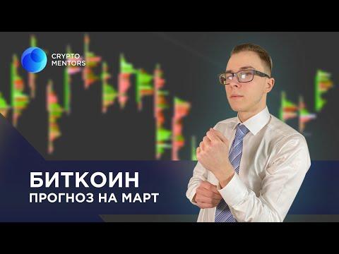 🔵Биткоин - что нас ждет в марте? Анализ и прогноз BTC