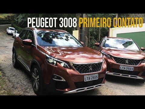 Primeiro contato com o Peugeot 3008