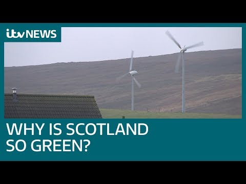Why is Scotland leading the UK in renewable energy? | ITV News