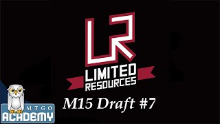 Limited Resources: M15 Draft #7, 12 September 2014