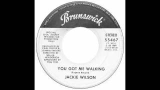 Jackie Wilson - You Got Me Walking - Raresoulie