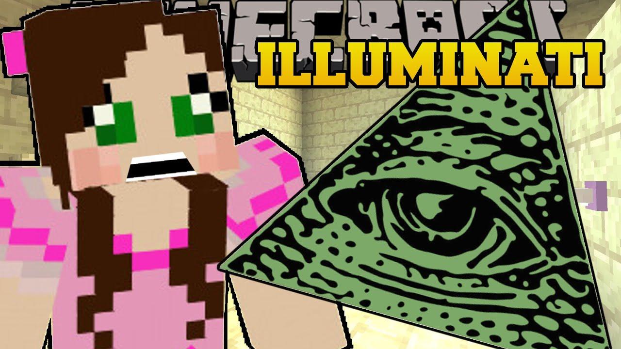 Minecraft: THE ILLUMINATI   Custom Map   YouTube