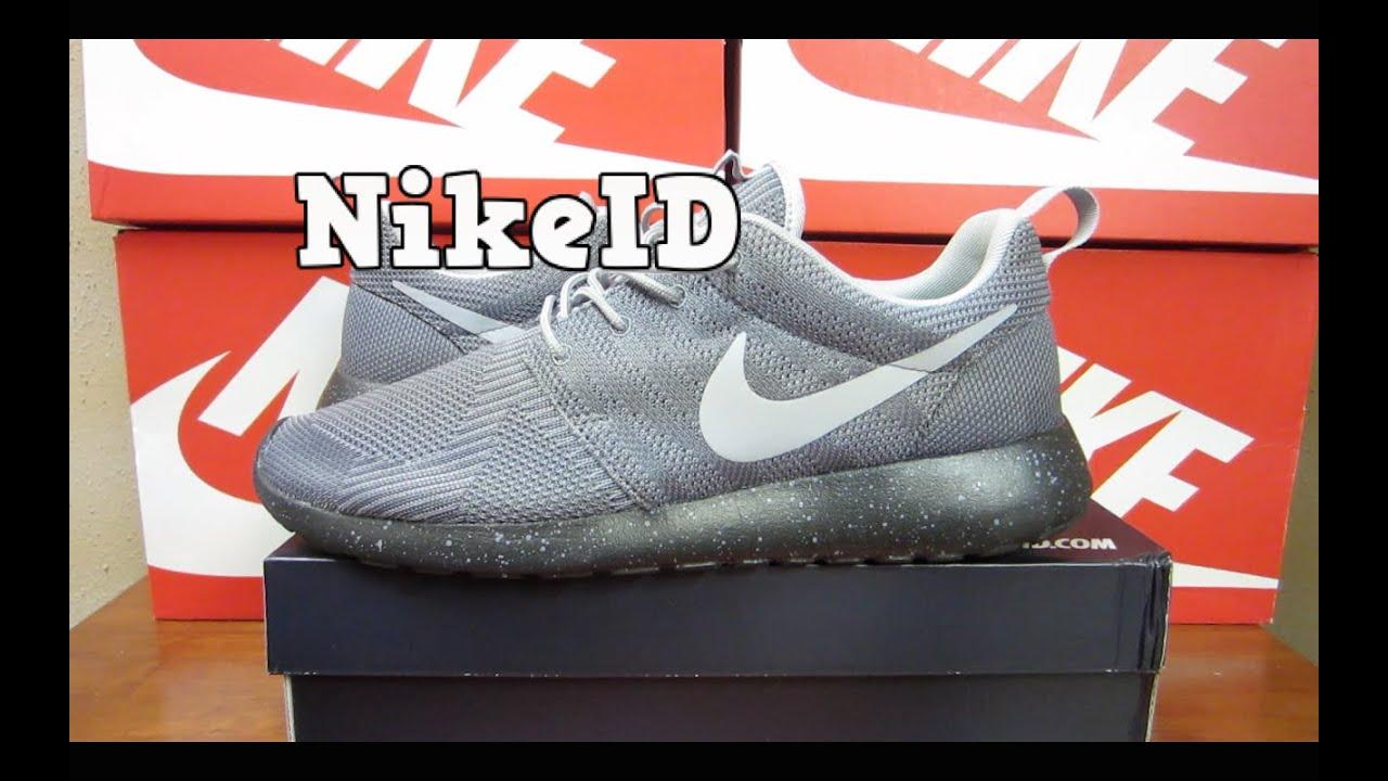 nikeid_NikeID Roshe Run KJCRD   Unboxing + On Feet - YouTube