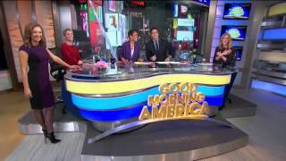 Video Ginger Zee & Amy Robach pantyhose legs & high heels (1-16-14) download MP3, 3GP, MP4, WEBM, AVI, FLV Agustus 2018