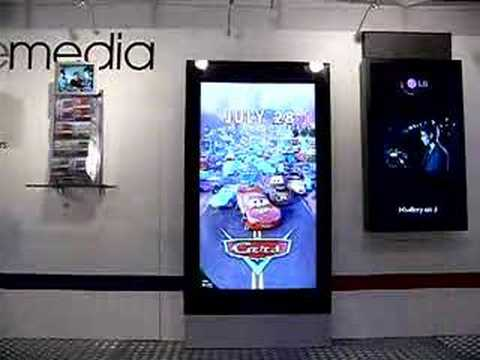 """46"""" and 57"""" Digital Posters in action - YouTube"""