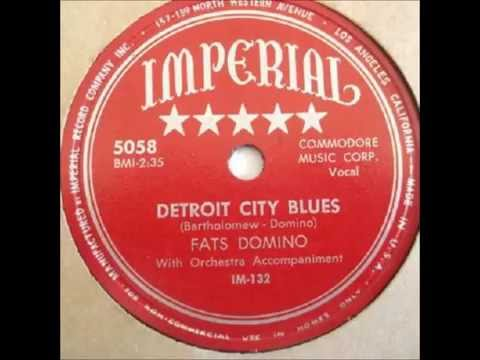 Fats Domino - (Imperial Records) Session #1 - December 10, 1949