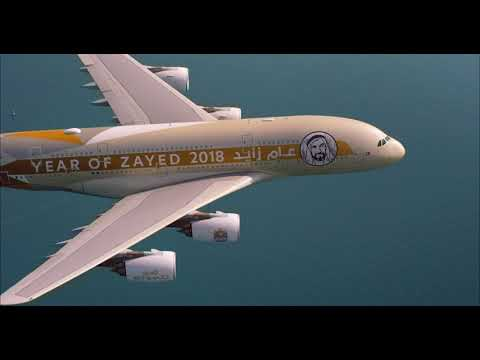 UAE 47th National Day Formation Flight | Etihad Airways