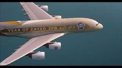 UAE 47th National Day Formation Flight | Etihad Airways