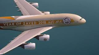 UAE 47th National Day Formation Flight | Etihad Ai...